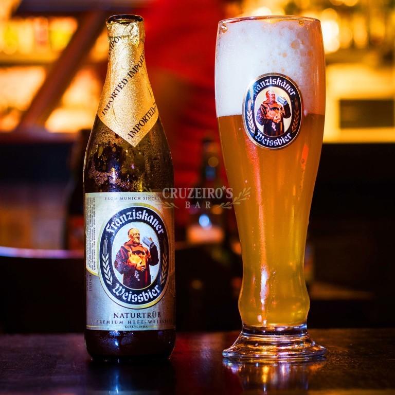 Cerveja-Franziskaner-Weissbier-Naturtrüb-Cruzeiro's-Bar