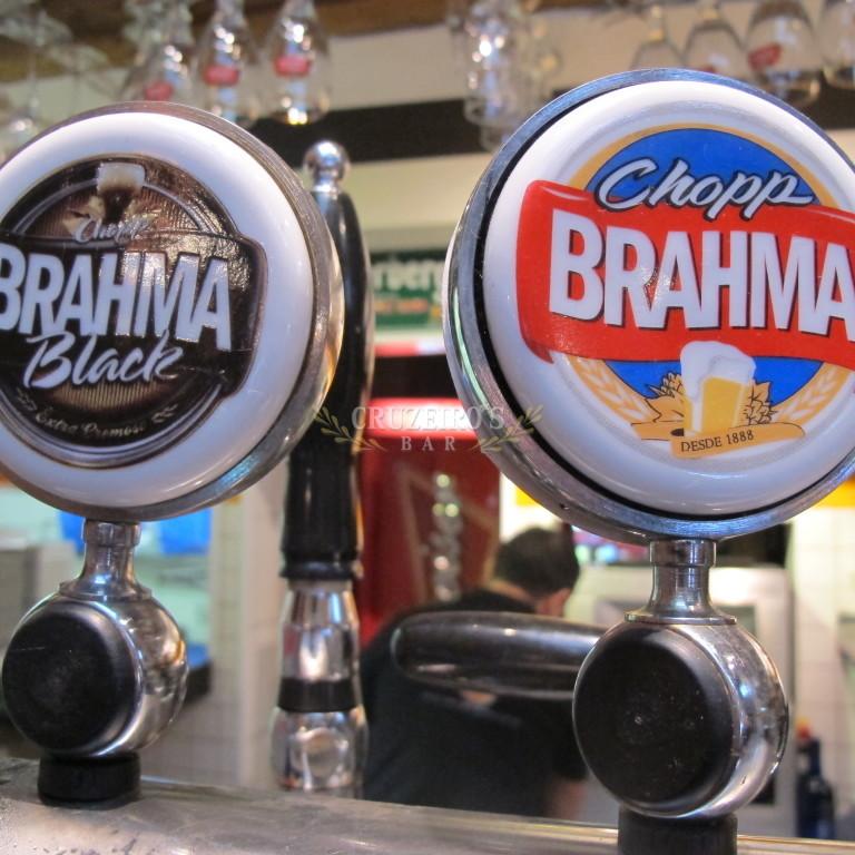 Chopp Brahma Claro Black - Cruzeiro's Bar